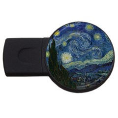 The Starry Night  Usb Flash Drive Round (2 Gb)