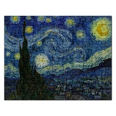 The Starry Night  Rectangular Jigsaw Puzzl