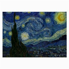 The Starry Night  Large Glasses Cloth