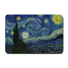 The Starry Night  Small Doormat