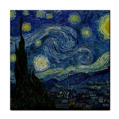 The Starry Night  Face Towel