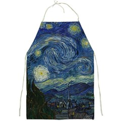 The Starry Night  Full Print Aprons
