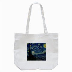 The Starry Night  Tote Bag (white)
