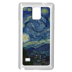 The Starry Night  Samsung Galaxy Note 4 Case (white)