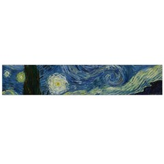 The Starry Night  Large Flano Scarf  by Valentinaart