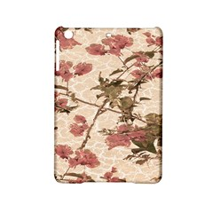 Textured Vintage Floral Design Ipad Mini 2 Hardshell Cases