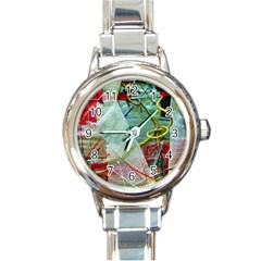 Hidden  Strings Of Purity 2 Round Italian Charm Watch