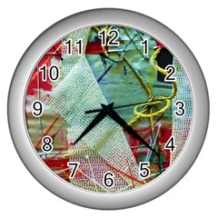 Hidden  Strings Of Purity 2 Wall Clocks (silver)