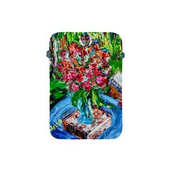 Paint, Flowers And Book Apple Ipad Mini Protective Soft Cases