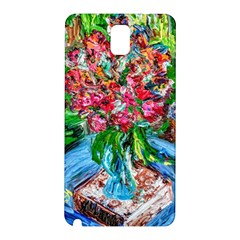 Paint, Flowers And Book Samsung Galaxy Note 3 N9005 Hardshell Back Case