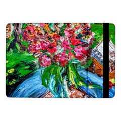 Paint, Flowers And Book Samsung Galaxy Tab Pro 10 1  Flip Case