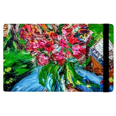 Paint, Flowers And Book Apple Ipad Pro 9 7   Flip Case by bestdesignintheworld