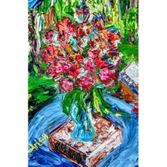 Paint, Flowers And Book 5 5  X 8 5  Notebooks