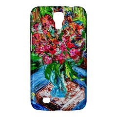 Paint, Flowers And Book Samsung Galaxy Mega 6 3  I9200 Hardshell Case