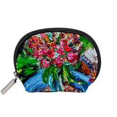 Paint, Flowers And Book Accessory Pouches (small)