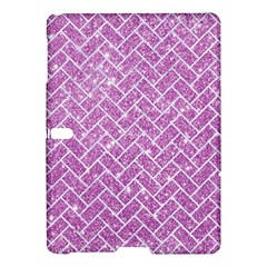 Brick2 White Marble & Purple Glitter Samsung Galaxy Tab S (10 5 ) Hardshell Case  by trendistuff