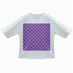 Woven2 White Marble & Purple Denim Infant/toddler T Shirts