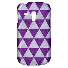 Triangle3 White Marble & Purple Denim Galaxy S3 Mini