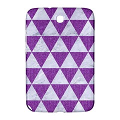 Triangle3 White Marble & Purple Denim Samsung Galaxy Note 8 0 N5100 Hardshell Case  by trendistuff