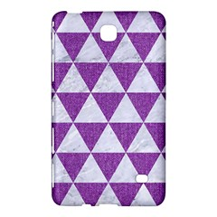 Triangle3 White Marble & Purple Denim Samsung Galaxy Tab 4 (7 ) Hardshell Case