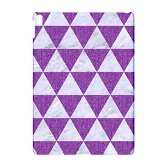 Triangle3 White Marble & Purple Denim Apple Ipad Pro 10 5   Hardshell Case
