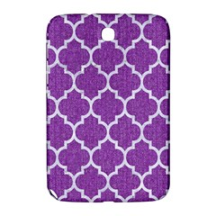 Tile1 White Marble & Purple Denim Samsung Galaxy Note 8 0 N5100 Hardshell Case