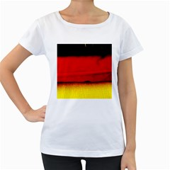 Colors And Fabrics 7 Women s Loose Fit T Shirt (white)
