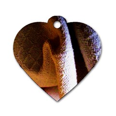 Colors And Fabrics 28 Dog Tag Heart (two Sides)