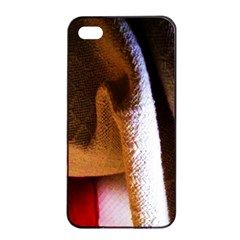 Colors And Fabrics 28 Apple Iphone 4/4s Seamless Case (black) by bestdesignintheworld