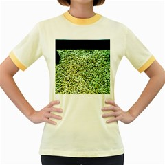 Colors And Fabrics 26 Women s Fitted Ringer T Shirts