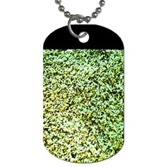 Colors And Fabrics 26 Dog Tag (two Sides)
