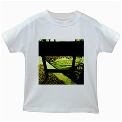 Colors And Fabrics 25 Kids White T Shirts