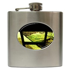 Colors And Fabrics 25 Hip Flask (6 Oz)