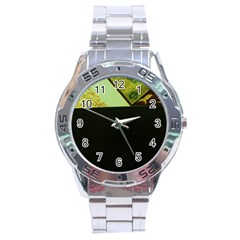 Colors And Fabrics 24 Stainless Steel Analogue Watch