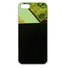 Colors And Fabrics 24 Apple Seamless Iphone 5 Case (clear)