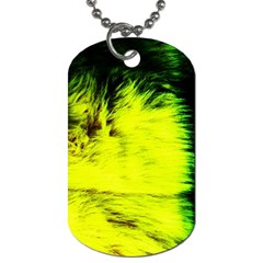Colors And Fabrics 23 Dog Tag (two Sides)