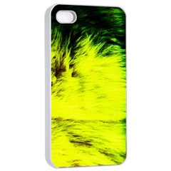 Colors And Fabrics 23 Apple Iphone 4/4s Seamless Case (white)