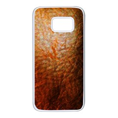 Colors And Fabrics 21 Samsung Galaxy S7 White Seamless Case