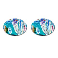Marine On Balboa Island Cufflinks (oval)