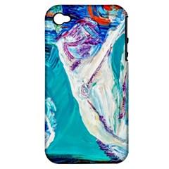Marine On Balboa Island Apple Iphone 4/4s Hardshell Case (pc+silicone)
