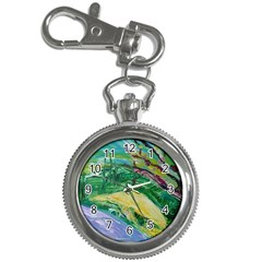Yellow Boat And Coral Tree Key Chain Watches