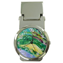 Yellow Boat And Coral Tree Money Clip Watches