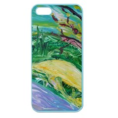 Yellow Boat And Coral Tree Apple Seamless Iphone 5 Case (color)