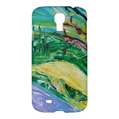 Yellow Boat And Coral Tree Samsung Galaxy S4 I9500/i9505 Hardshell Case