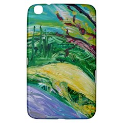 Yellow Boat And Coral Tree Samsung Galaxy Tab 3 (8 ) T3100 Hardshell Case