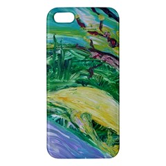 Yellow Boat And Coral Tree Iphone 5s/ Se Premium Hardshell Case