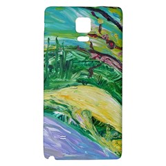 Yellow Boat And Coral Tree Galaxy Note 4 Back Case