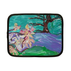 Magnolia By The River Bank Netbook Case (small)