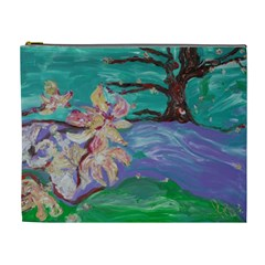 Magnolia By The River Bank Cosmetic Bag (xl)