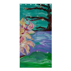 Magnolia By The River Bank Shower Curtain 36  X 72  (stall)